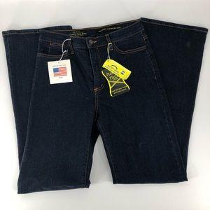NYDJ Tummy Tuck Jeans bootcut size 8